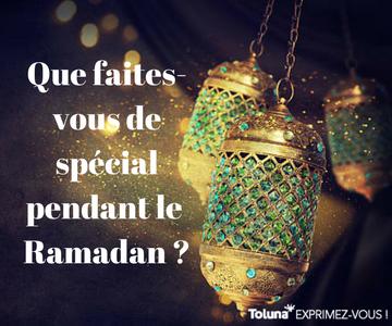 Quel est votre meilleur souvenir du Ramadan -